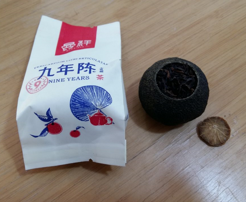 Puer orange taste tea