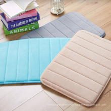 multi-color water resistant floor bath mats