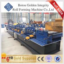 QC300 C / Z Rodillo de línea de Purlin que forma la máquina