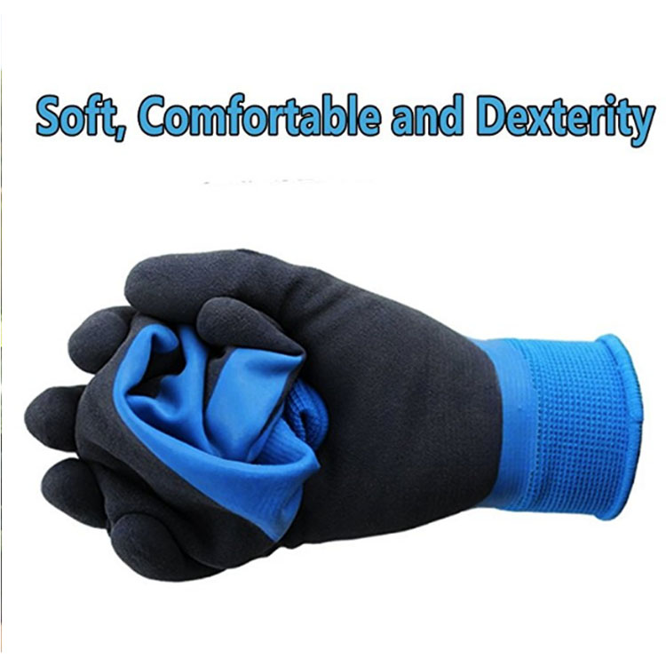 Black PE Cleaning Gloves