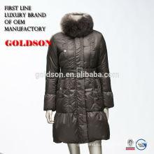Лисий мех пальто реальные образцы парандже 2017 зима