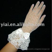 Бренд 2010 Новые Свадебные Перчатки !!! AN2119