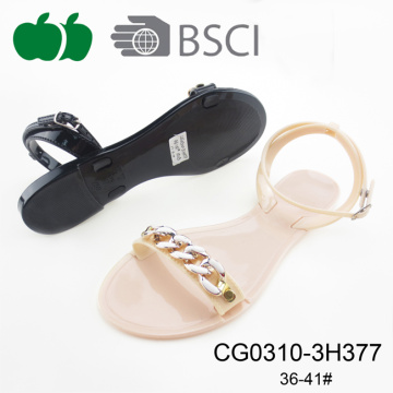 Good Quality new Design Fashion Pvc Jelly Sandals
