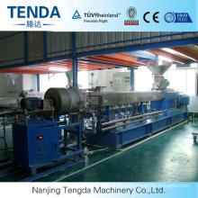 Granulating Rubber Twin Screw Extruder Machine