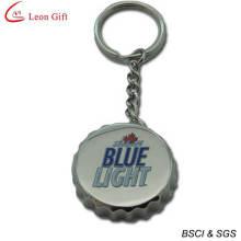Hot Sale Custom Logo Bottle Cap Bottle Opener Keychain (LM1403)