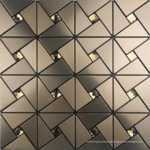 Aluminium-Legierung Mosaik, geformte Laterne Mosaikfliese für Verkauf