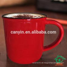 Top Quality Großhandel Promotion kundenspezifische Keramik Memorial Cup