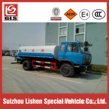 Dongfeng 10000L agua tanque carro 170HP Rhd