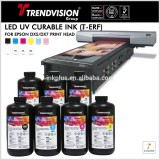 Trendvision High adhesion Rigid LED UV Curable ink For Ep DX5/EX7