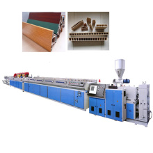 WPC Wood Plastic Board Extrusion Making Machine