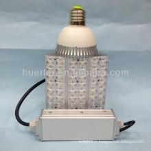 Haute qualité bon prix 85-265v 12-24v 12v jardin E40 60W conduit lumière de maïs