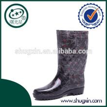 Equitación botas de lluvia de pvc