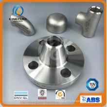 Bride forgée d'acier inoxydable d'ASME B16.5 Wn avec le service d'OEM (KT0257)