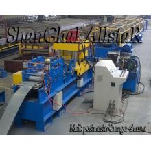 Rack vertical de metal / estante del almacenaje del rodillo que forma la máquina