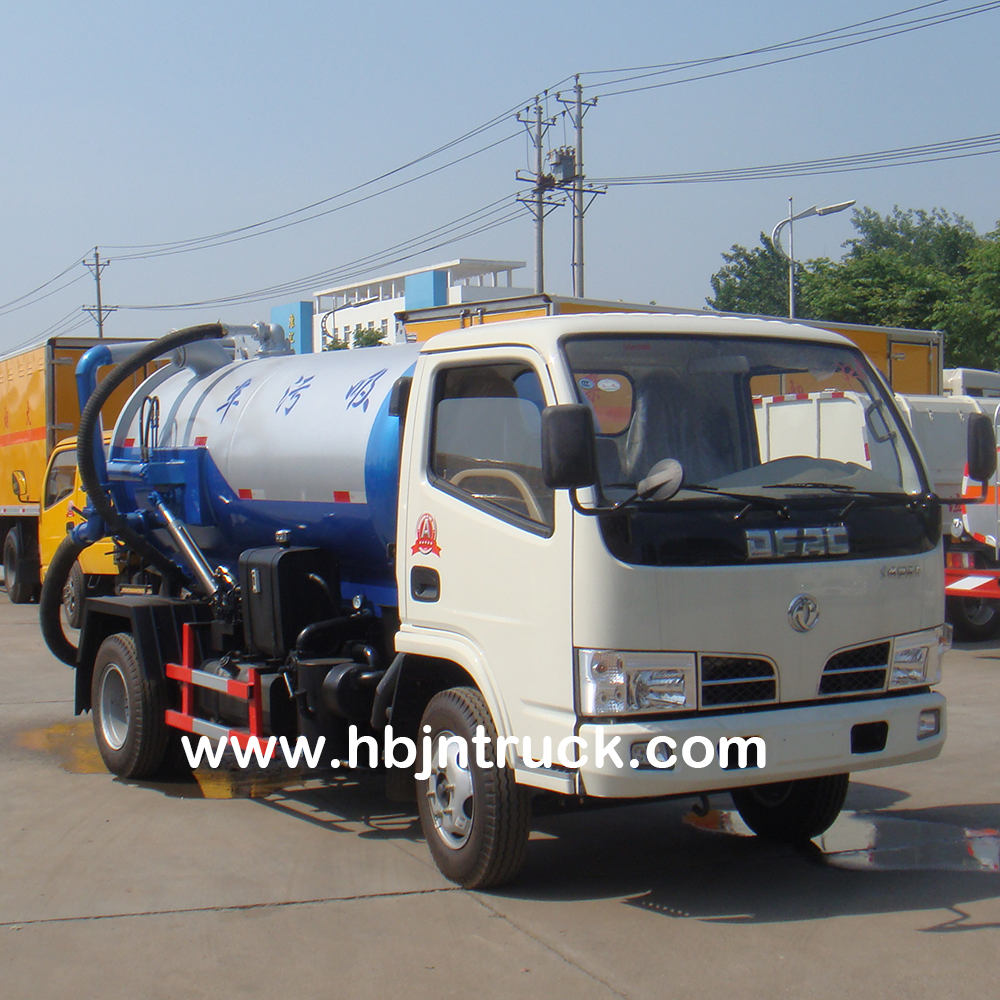 Sewer Suction Truck