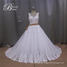 2016 Sexy Backless vestido de noiva vestidos