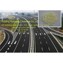 Para a marcação de estradas, a resina de petróleo C5