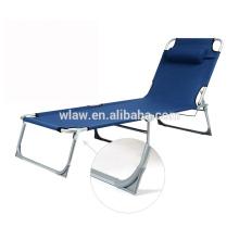 Adjustable Militar portátil plegables camas de camping acero campamento cunas hamaca cuna