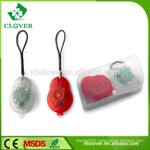 Two pairs ABS material 1 led bicycle front light