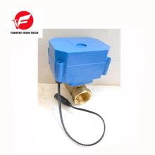 CR01 12V DN15 laiton CWX-60P 6nm vanne d'eau moteur électrique