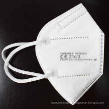 FFP2 5 camadas máscara EN149 CE2163 máscara protetora