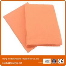 Tissu non-tissé le plus absorbant de Hongyi, chiffon de nettoyage non-tissé de cuisine non pelucheux