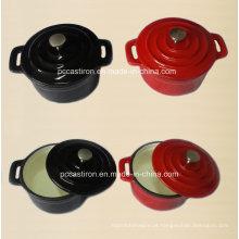 Esmalte ferro fundido Mini cocotte caçarola Fabricante a partir de China