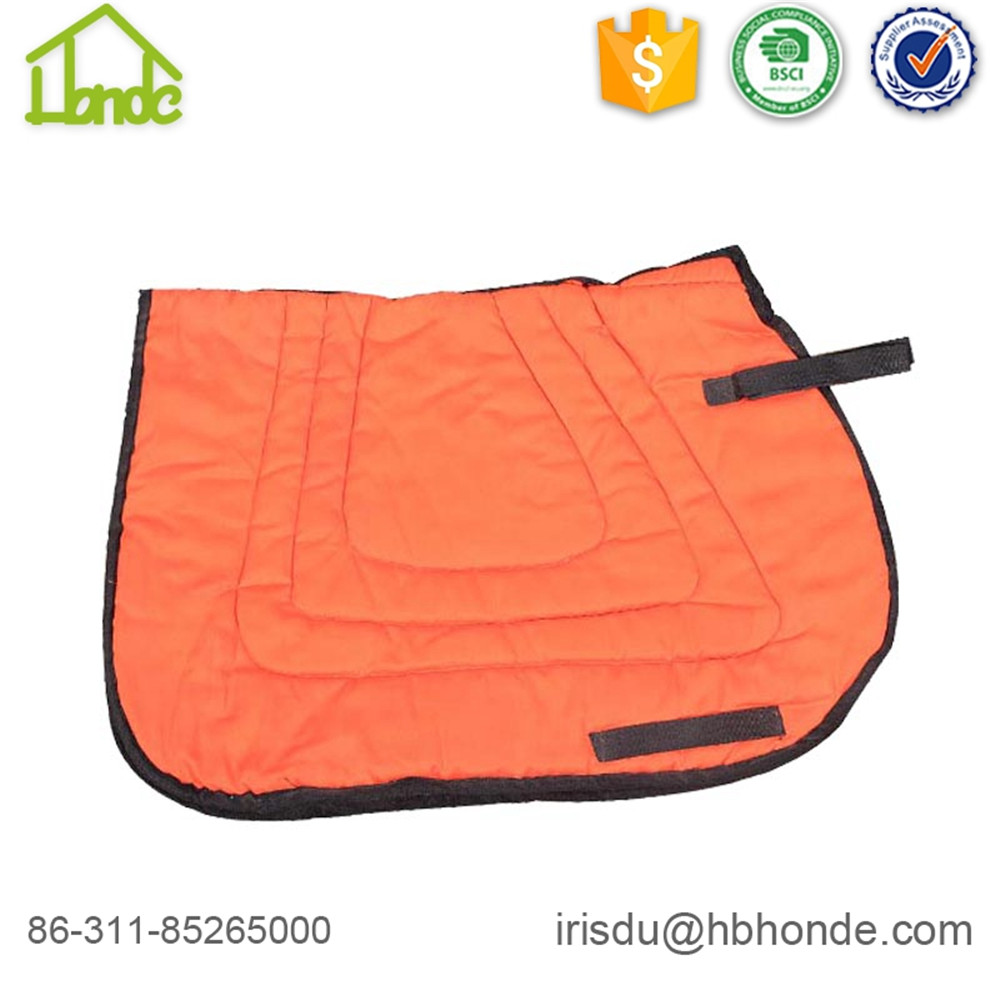 orange western saddle pad
