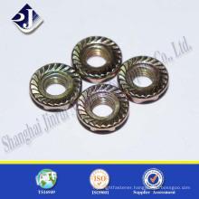 Shanghai JR Maunfacture Carbon Steel Grade 8.8 Hex Flange Nut