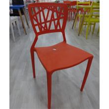 Современный стул мебель из Китая безрукий пластиковый стул в хорошей цене