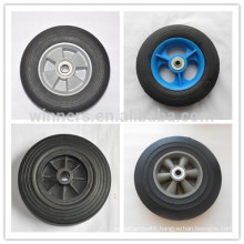 "Plastic wheels 7"" 8"" 10"" solid rubber wheel"