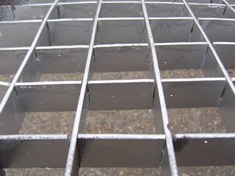 Galvanized Plug Steel Grid