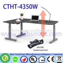 3 Beine elektrische höhenverstellbare Tische / Tische ohne Sichtblende