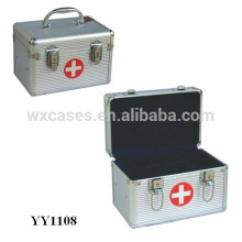 small sizes aluminum first aid box with tray inside from China Foshan