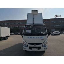 YUEJIN Diesel Animal carcasses transport refrigerated truck