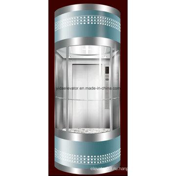 Элегантный полный коллективный выборочный панорамный лифт