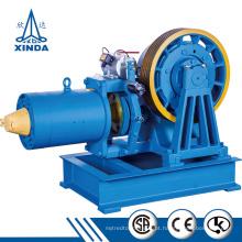 Motor elétrico de tração da máquina de engrenagem para elevador doméstico