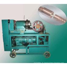 Máquina de corte de rosca de vergalhões