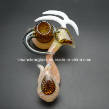 Factory Wholesale! Amazing Hand Made Heady Glass Pipe Smoking Pipe Bubbler