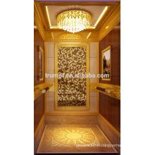 Ascenseur de passagers élégant et confortable