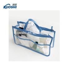 ясный мешок PVC с застежкой-молнией изг
