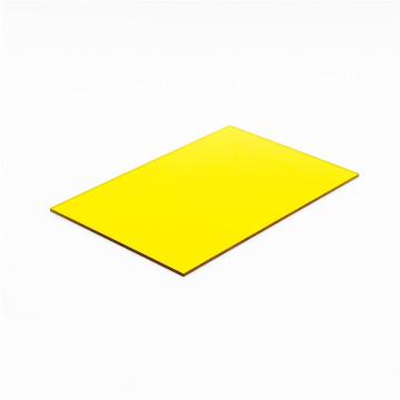 Hoja sólida de policarbonato con tamaño personalizado