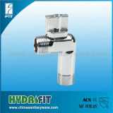 2014 high quality pneumatic angle seat valve