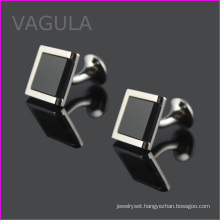 VAGULA Black Onyx Gemelos Cufflink Shirt Cuffs Cuff Links Hl62271