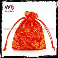 Fácil de lavar pequeña bolsa, bolsa de joyería de seda, bolsa de regalo de joyería