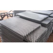 Malla metálica expandida de acero suave