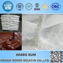 Arabisches Gummi-Pulver als Poliermittel in Chocalate