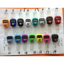 Relógio digital colorido de silicone promocional colorido