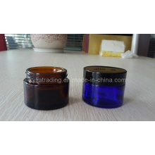 5ml, 50ml Amber Glass Cream Jar