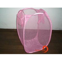 Foldable Mesh Laundry Basket (hbmb-2)